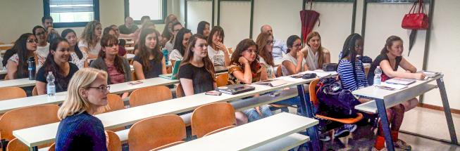 Learning opportunities for foreign students