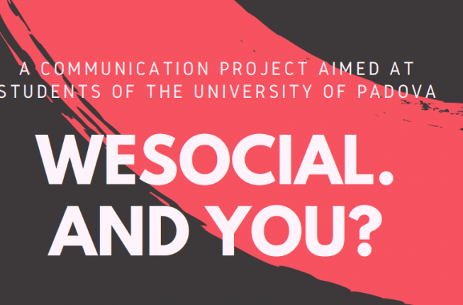 Collegamento a WESOCIAL. AND YOU?